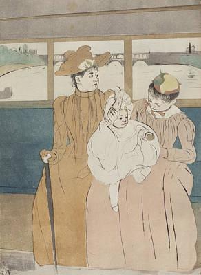 Cassatt Painting - In The Omnibus by Celestial Images