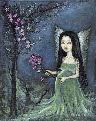 In The Orchard Original by Angel  Tarantella
