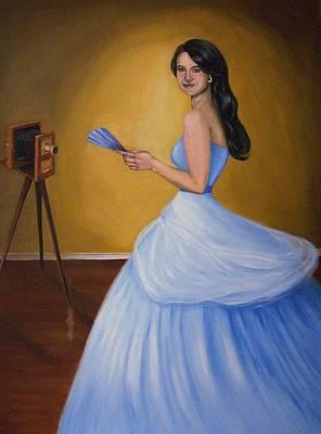 In The Portrait Studio Original by Phillip Compton