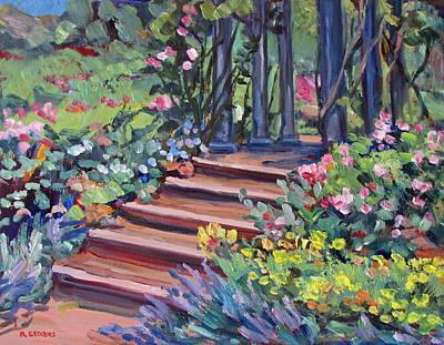 In The Rose Garden Original by Robert Gerdes