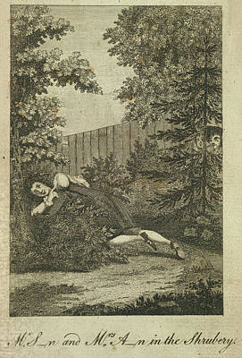 Sexual Intercourse Photograph - In The Shrubbery by British Library