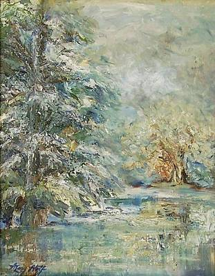 In The Snowy Silence Original by Mary Wolf