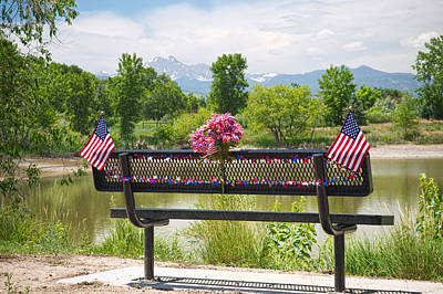 Bench Photograph - In Your Honor by James BO  Insogna
