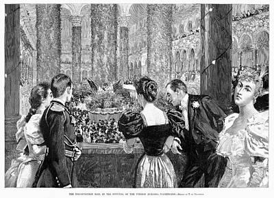 Inauguration Painting - Inaugural Ball, 1893 by Granger