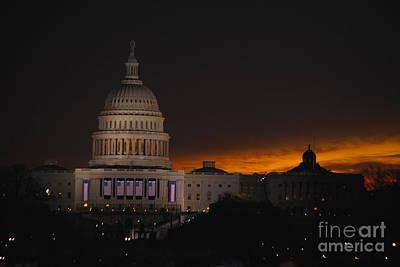 Vice President Biden Photograph - Inauguration New Horizon by Jost Houk