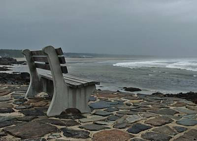 Incoming Tide Photograph - Incoming Tide by Joy Bradley