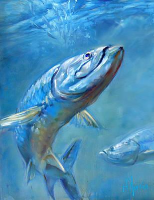 Fish Digital Art - Incoming by Tom Dauria