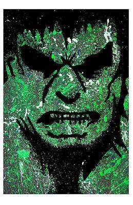 Incredible Hulk Print by Tony Herrera