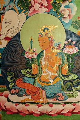 Bodhisattva Photograph - India, Himachal Pradesh, Dhauladhar by Alida Latham