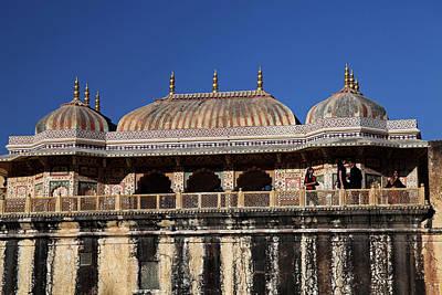 India Jaipur Jaipur City Palace Print by Kymri Wilt