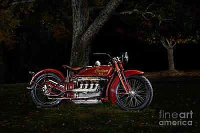 4 Aces Photograph - Indian Ace by Frank Kletschkus
