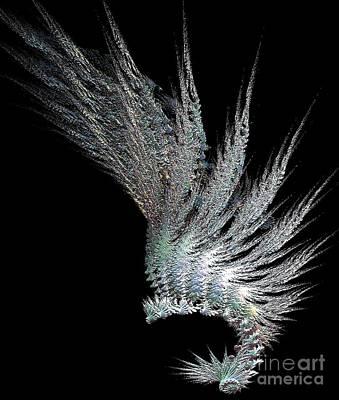 Indian Feather Head Dress Print by Gail Matthews