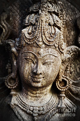 Hindu Goddess Photograph - Indian Goddess by Tim Gainey