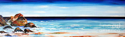 Wa Painting - Indian Ocean Downsouth Western Australia by Roberto Gagliardi