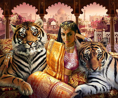 Tiger Photograph - Indian Princess by Andrew Farley