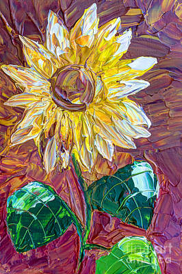 Copper Color Painting - Indian Summer by Heidi Smith