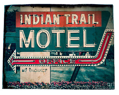 Indian Trail Motel Original by Perry Webster