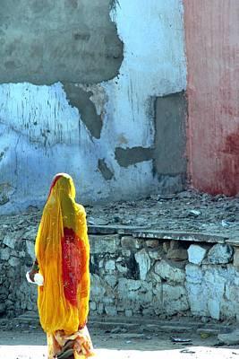 Indian Woman Print by Arie Arik Chen