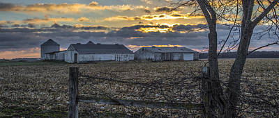 Indiana Landscapes Photograph - Indiana Sunrise by John McGraw