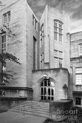 Indiana University Bryan Hall Print by University Icons