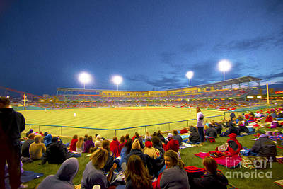 Indianapolis Indians Print by David Haskett