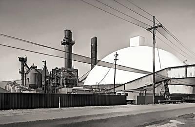 Industrial Art 2 Sepia Print by Steve Harrington