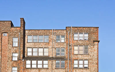 Industrial Building Print by Tom Gowanlock