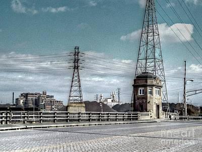 Mj Photograph - Industrial Detroit by MJ Olsen