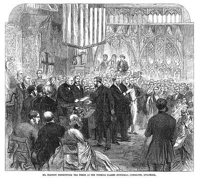 Industrial Exhibition, 1866 Print by Granger