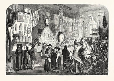 Industrial Exhibition In The Black Forest Germany Print by German School
