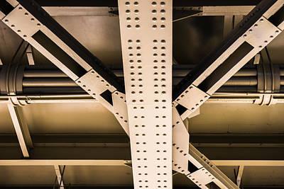 Component Photograph - Industrial Metal by Alexander Senin