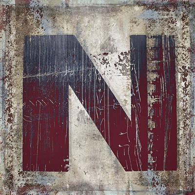 Photograph - Industrial N by Carol Leigh