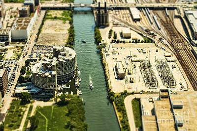 Photograph - Industrial Riverside by Andrew Paranavitana
