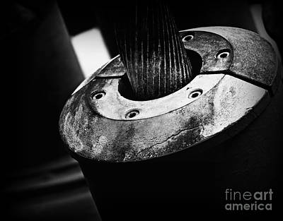Black And White Photograph - Industrial Stuff by Clare Bevan