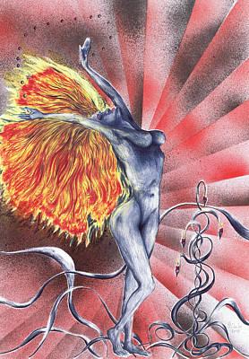 Inferno Print by Kenneth Clarke