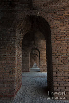 Ruins Photograph - Infinite Arch's by Keith Kapple