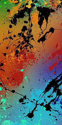 Black Top Digital Art - Infinite M Panel #2 by Ryan Burton