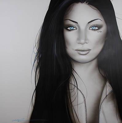 Portrait - ' Infinity ' Original by Christian Chapman Art