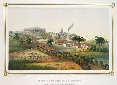 Slavery Photograph - Ingenio San Jose De La Angosta by British Library