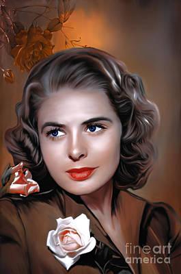 Ingrid Bergman  Original by Andrzej Szczerski