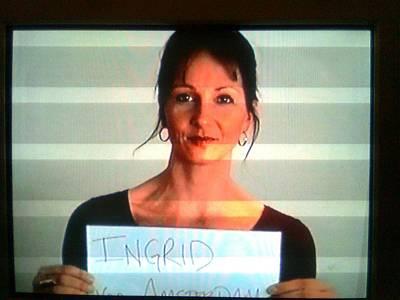 Face Photograph - Ingrid by Ingrid Van Amsterdam