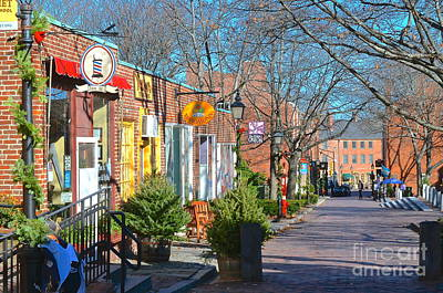 Inn Street Newburyport Original by Christian Hanson