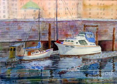 Inner Harbour Victoria Original by Mohamed Hirji