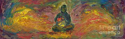 Inner Light Painting - Inner Peace by Robert Paulson