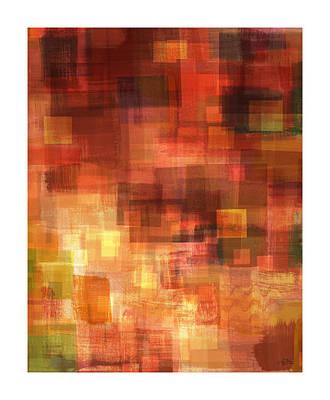 Impasto Oil Painting - Inner Sanctum 2 by Craig Tinder