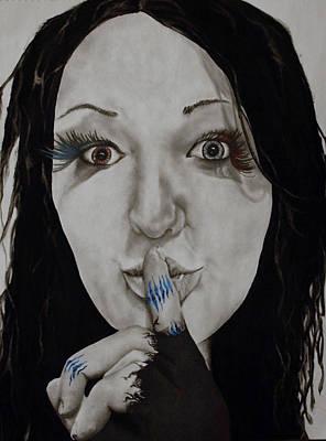 Inner Struggle Print by Corina Bishop