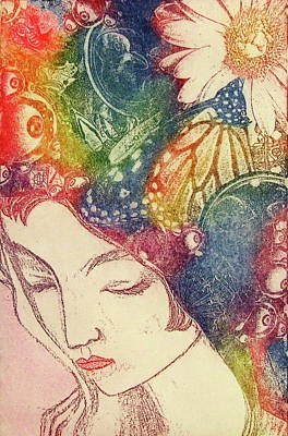 Mixed Media - Inner Thoughts by Juliann Sweet