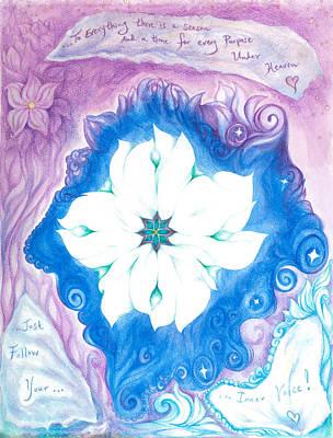 Inner Self Painting - Inner Voice by Lydia Erickson