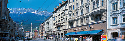 Storefront Photograph - Innsbruck Tirol Austria by Panoramic Images
