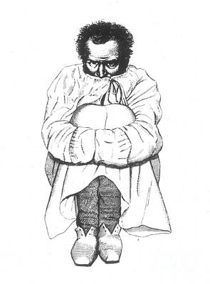 Insanity, 1838 Print by Granger